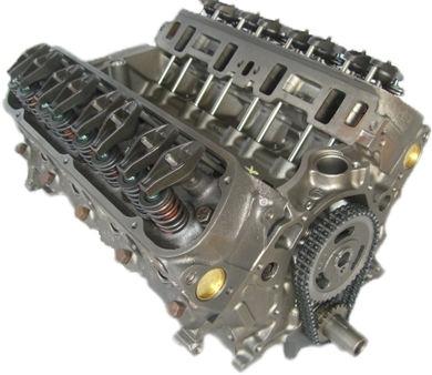 Gm 5.0 Reverse Rotation 305 Reman Marine Long Block Engine 1987-1995