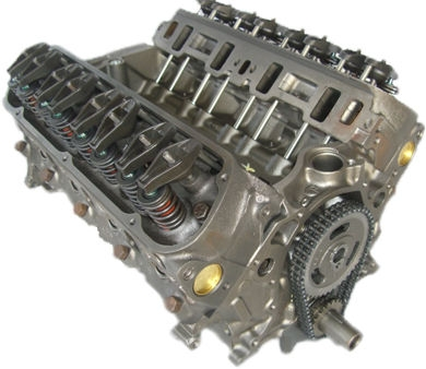 Gm 5.0l Marine Reman Long Block Engine 1987-1995