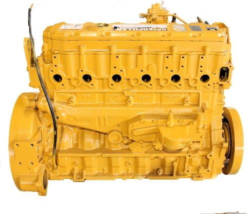CAT 3126 DIESEL LONG BLOCK ENGINE