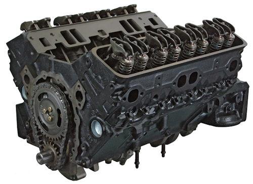 5.7 Gm 350 Reverse Rotation Reman Marine Long Block Engine 1964-1980