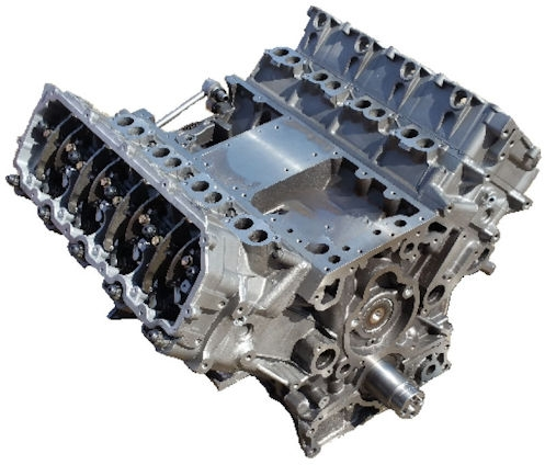 Ford 6.4L Powerstroke Remanufactured Long Block Engine