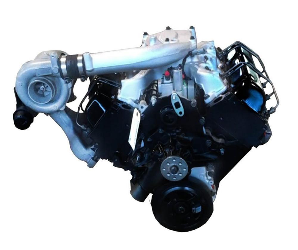 Gm 6.5l Turbo Diesel Complete Drop In 1991 To 1993 Reman Engine