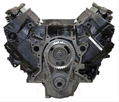 7.4 Reman Marine Long Block Engine 1991-1997 | Reverse Rotation