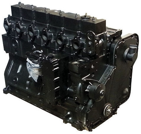 6.7 LITER ISB QSB 6.7L 24V ISB QSB CUMMINS COMMON RAIL REAR GEAR LONG BLOCK DIESEL ENGINE