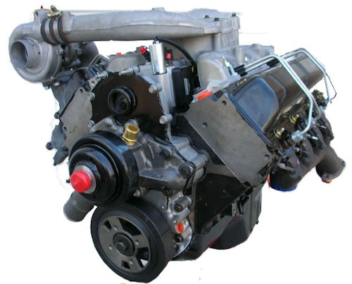 Gm 6.5l turbo Diesel Drop In (C/K) 1996 To 2002 Reman Engine