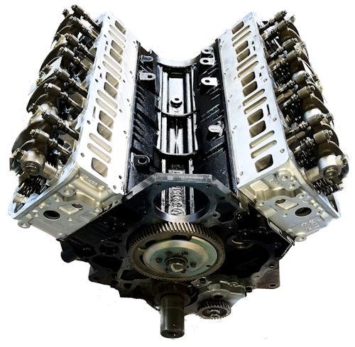 Duramax 6.6l Lbz Remanufactured Long Block Engine