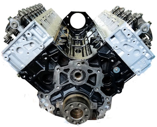 Duramax 6.6l Lb7 Remanufactured Long Block Engine