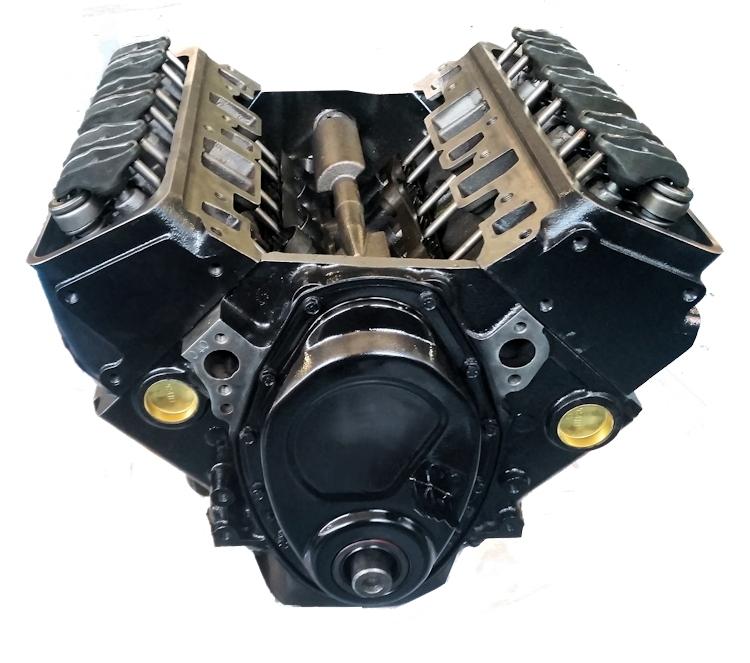 4.3 Reman Marine Long Block Engine General Motors 1987-1992