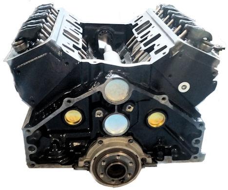 Gm 4.3l Marine Reman Long Block Engine 1992-1997