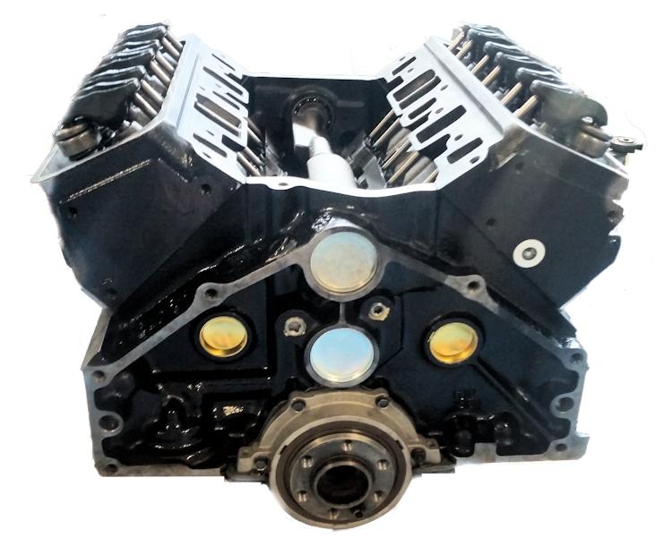 4.3 Reman Marine Long Block Engine General Motors 1996-1999