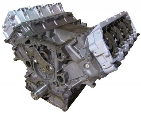 4.5L Ford Remanufactured Long Block Engine