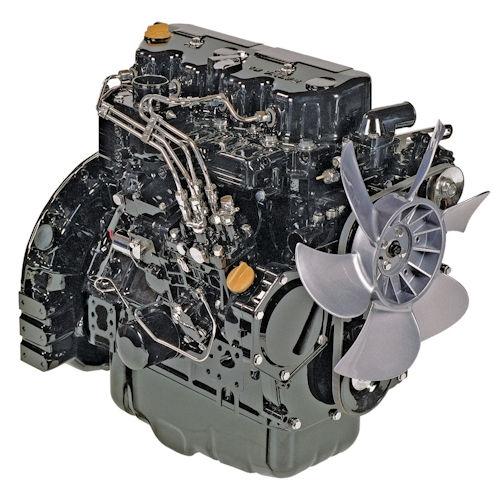 Yanmar 4TNV86CT-MJT Reman Long Block Engine